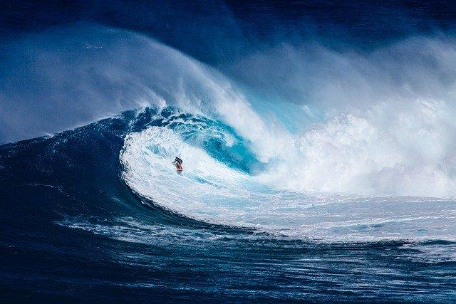 Résistance au stress : image du surfeur